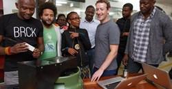 Eric Thimba and Porgie Gachui, co-founders of Mookh; Wandia Gichuru, CEO, and Makena Mutwiri, Head of Marketing of Vivo Active Wear; Mark Zuckerberg, Ime Archibong, Emeka Afigbo of Facebook; Edna Kwinga, Human Resource Officer, and Marie Amuti, UX designer of Twiga Foods.