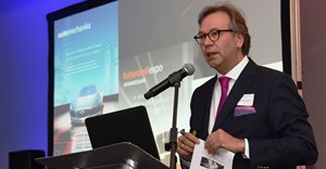 Michael Johannes, vice president for mobility and logistics at Messe Frankfurt in Germany.