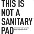 This is not a sanitary pad