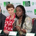 - From left: Chief Investment Officer, Old Mutual Investment Group, Hywei George; Chief Executive Officer of the Group, Diane Radley; Minister of Finance, Kemi Adeosun; and Managing Director/Chief Executive Officer, Nigeria Sovereign Investment Authority (NSIA), Uche Orji, at the agreement-signing ceremony.