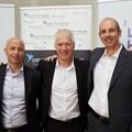 L-R: Eran Feinstein, Offer Gat and Peter Harvey