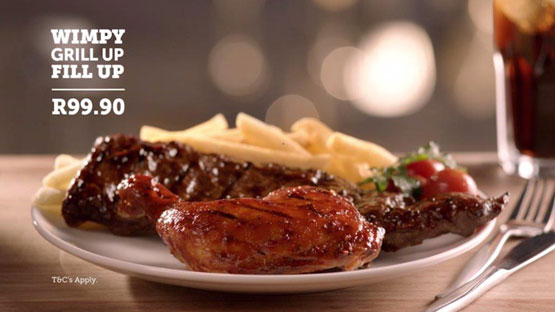 Wimpy's meat-loving Papa keeps SA smiling