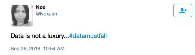 Stop gentrifying our internet #DataMustFall