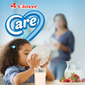 Clover Care, the first enriched milk in South Africa