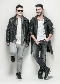 Pop duo RO currently dominating SA's radio airwaves with Fall