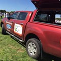 One of the Ford Rangers currently in use as a mobile clinic in the Eastern Cape.