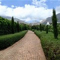 The key to luxury villa accommodation in the Winelands