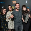Some of team Joe at Loeries 2016. (Williams is second, Schlumpf third).