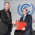 Dr Paul Grunow of PI Berlin and Badr Ikken of Iresen