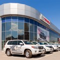 Toyota dealers dominant at halfway mark in Business of the Year contest