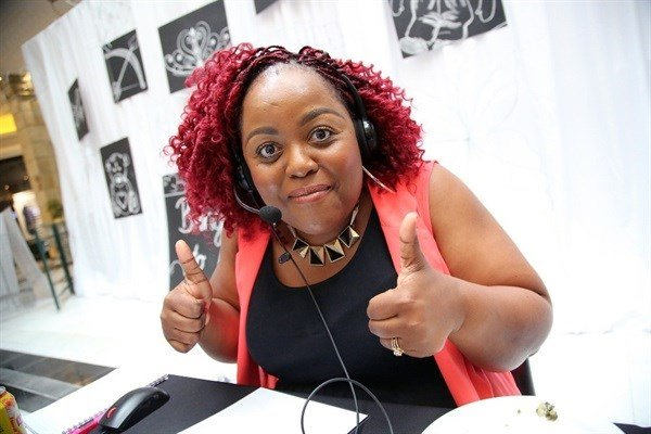 East Coast Radio's Carol Ofori joined all the station's presenters in manning the pledge line at the East Coast Radio Toy Story with Game Corporate Day Challenge.