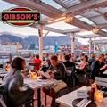 Gibsons' new alfresco all-weather terrace dining enclosure.