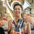 Trying out News Cafe's new cocktail at The Boardwalk are, from left, Mon-Lee March, 24, Luisa Kutz, 33, and Ashley Tessendorf, 25. Picture: