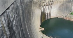 Low water levels aid plans for rehabilitation of Kariba Dam