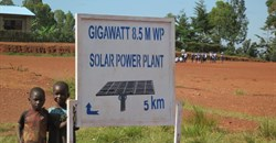 Burundi solar field breaks ground
