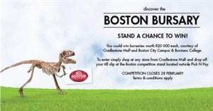 Win a Boston City College education bursary from Cradlestone Mall