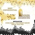 Coke Zero and MediaCom grab gold at AMASA Awards