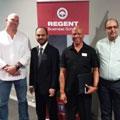 Master entrepreneur GG Alcock inspires students at Regent Business School in Durban