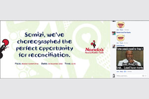 Nando's SA invites local bigwigs to put all beef aside on Reconciliation Day