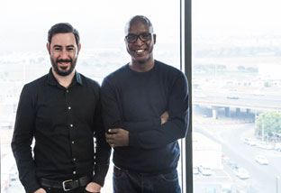 Luca Gallarelli, Managing Director, and Tseliso Rangaka, ECD, Ogilvy & Mather Cape Town