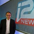 """CEO of the new Israeli-based TV channel """"i24 news"""" Franck Melloul poses at the station's headquaters on June 17, 2013 in Tel Aviv's seafront Jaffa district 