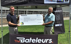 The Bateleurs welcome generous donation