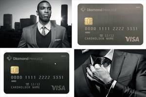 Diamond Bank Privilage Bank Card Design
