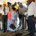 Sod turning marks start of Skukuza Safari Lodge construction