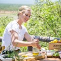 Behind the scenes: Sarah Graham's Food Safari recipe mag