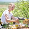 Behind the scenes: Sarah Graham's Food Safari recipe mag