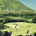 Golfer at Tamarina