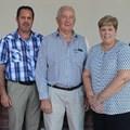 (L-R): Newton Cockroft (Director: Deloitte SA, head of Government Growth Initiative); Andy Buchan (Kwanalu President); John Bredin (Harry Gwala Agri chairman), Sandy La Marque (CEO of Kwanalu) and agricultural economist, Professor JP Landman.