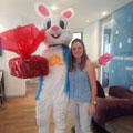 AutoReach Lucky Bunny surprises and delights Fagan