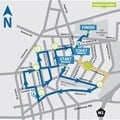 Temporary road restrictions for the 2017 J.P. Morgan Corporate Challenge