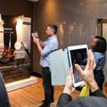 The AR gallery at the IAB Digital Summit.