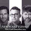 Inaugural 'film craft' executive jury selected for New York Festivals