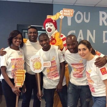 OLC breaks barriers again with McDonald's National Breakfast Day