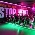The new Ignite Fitness gym installation is a great example of creativity and innovation in lighting as well as the gym concept.