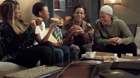 New ad for Debonairs Pizza from FCB Joburg breaks through the 'cell phone barrier'