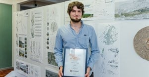 Kenneth Main wins place in Corobrik Architectural Student of the Year finals