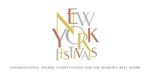 New York Festivals World's Best Advertising Awards announces 2017 finalists