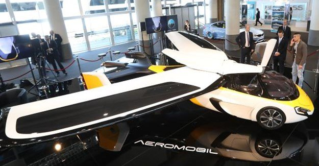 Two flying car prototypes launched on French Riviera