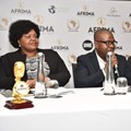 Head, Culture Division, African Union Commission, Angela Martins; President/Executive Producer, AFRIMA, Mike Dada and MD, Africori Digital Music Solutions, Yoel Kenyan