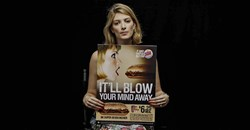 Fighting sexism: 'I love giving blow jobs to sandwiches', says this model in the #WomenNotObjects campaign in the US. The Loeries aim to encourage local advertisers to celebrate work that acknowledges our humanity.