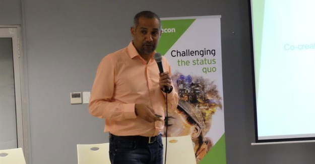 Abbas Jamie, community liaison for Africa, World Design Organisation, and director for innovation and transformation at Aurecon. Image: