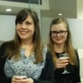 Winners, Amri Botha and Carina Coetzee with Lynne Wylie from Cinemark
