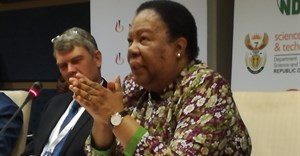 Minister of science and technology, Naledi Pandoor