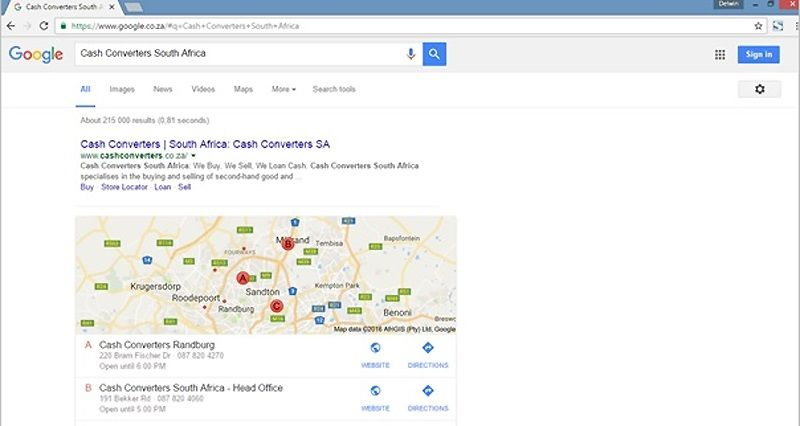 Local search optimisation boosts organic search results