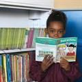 Amore Paulsen in the Laastedrif library