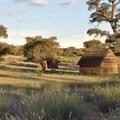 #Khomani San Landscape within the Kgalagadi Gemsbok National Park (Image: Kevin Moore of SANParks )